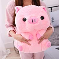 40cm Lovely Fat Round Pig Plush Toys Stuffed Cute Animals Dolls Baby Piggy Kids Appease Pillow for Girls Birthday…