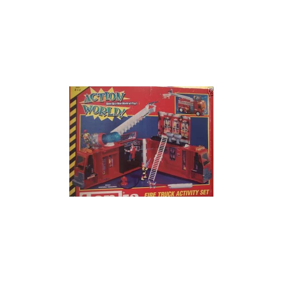 Tonka Action World Fire Truck Activity Set Toys & Games