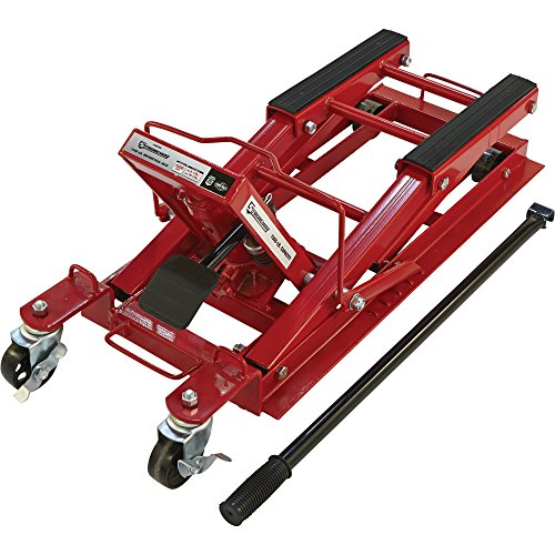 Oil Capacity Lifts Parts : Strongway hydraulic motorcycle jack utility vehicle lift