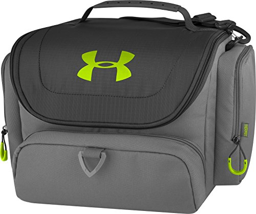 Under Armour 24 Can Soft Cooler, Charcoal/Hyper Green