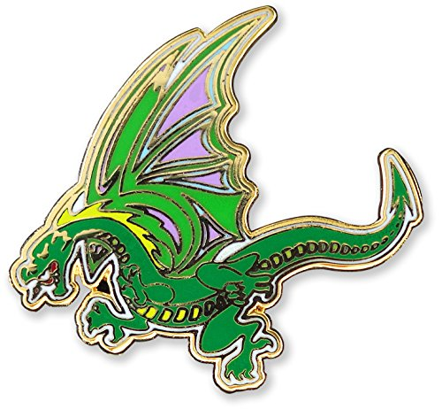 (Dragon- Hard Enamel Pin (Cloisonne Pin) )