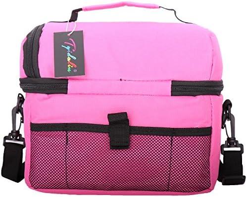 Tyidalin gran capacidad bolsa nevera bolsa isot/érmica para familia de equipaje barbacoa Camping Picnic almuerzo almuerzo 8L