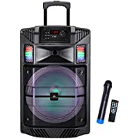 Audster AUD-B800K Portable Rechargeable Speaker - Black