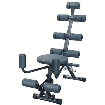 Bancos ajustables All-in-One Fitness Abs Rocket Silla Abdominal Ajustable, Gimnasio Entrenamiento