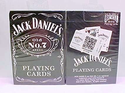 M. CORNELL IMPORTERS Bicycle Jack Daniels Old No 7 Brand Playing Cards 1 Deck