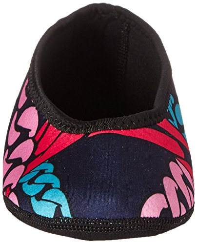 NuFoot Ballet Flats Womens Shoes, Best Foldable & Flexible Flats, Slipper Socks, Travel Slippers & Exercise Shoes, Dance Shoes, Yoga Socks, House Shoes, Indoor Slippers, Navy Chains, Large