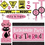 Bachelorette Party Car Decorating Kit 18pc
