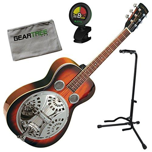- Gold Tone PBR Paul Beard Signature Roundneck Resonator Guitar w/Geartree Cloth,