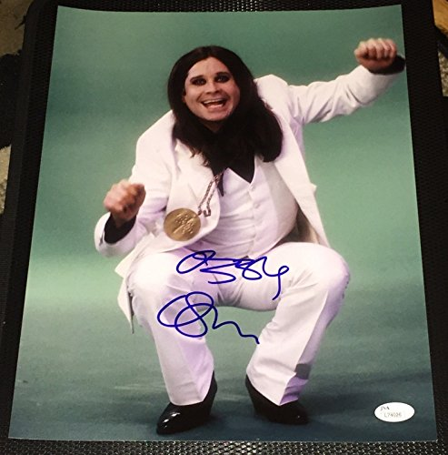 - OZZY OSBOURNE SIGNED AUTOGRAPH BLACK SABBATH LEGEND RARE 11X14 PHOTO JSA L74026