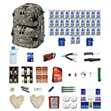 emergency backpack 4 person - Combo Survival Kit Four For Earthquakes, Hurricanes, Floods, Tornados, Emergency Preparedness