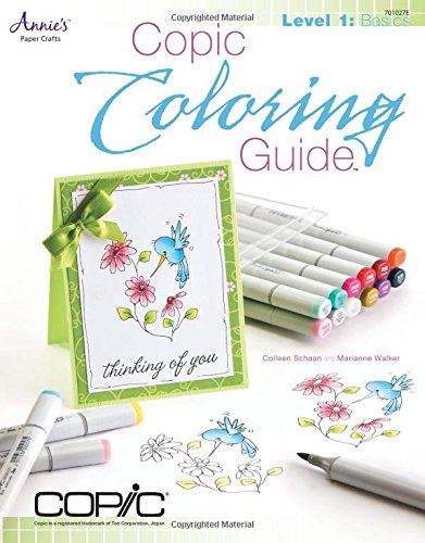Copic Markers Coloring Guide - Felt Christmas Tutorial