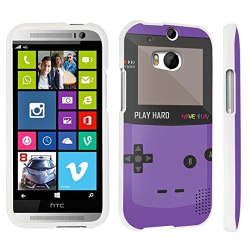 M8 Hard Case White - (Gameboy Purple) ()