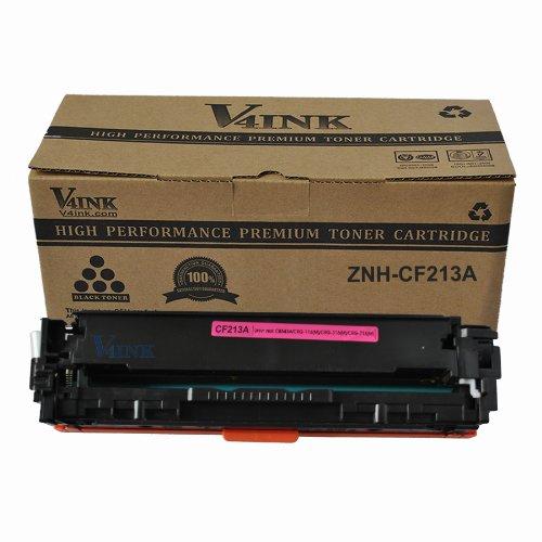 V4INK ® New Compatible HP 131A Toner Cartridge-Magenta (CF213A) for Hp Laserjet Pro M251 M276 Toner Printers, Office Central