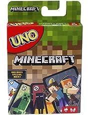 Mattel Games UNO: Minecraft - Card Game (FPD61)