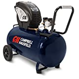 20 gallon portable air compressor - Air Compressor, Portable, Horizontal, 20 Gallon, Oil-Free, 4 CFM @ 90 PSI, 150 PSI (Campbell Hausfeld  DC200000)