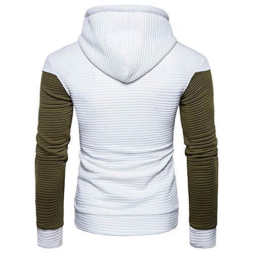 Tops Sweats Haut Shirt Automne Blanc Longue À Aimee7 Pullover Casual Homme T Manche Capuche vTw7n8qx
