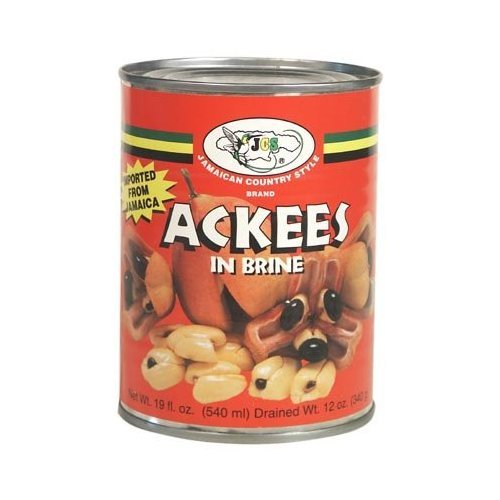 Ackees in Brine 19oz, (Pack of 12) by JCS