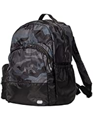 Lug Echo Packable Backpack, Camo Black, One Size