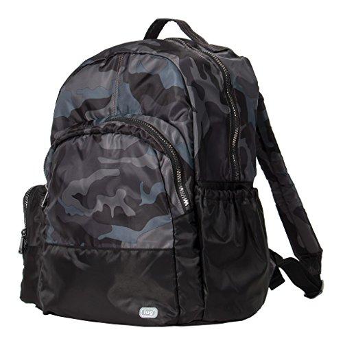 Lug Echo Packable Backpack, Camo Black, One Size