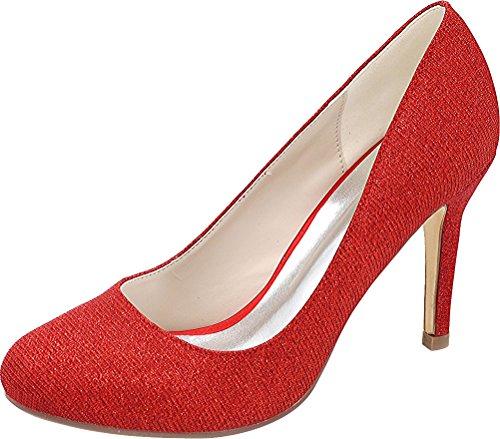 Red Cfp Donna Con Sandali Zeppa vXnHBqz