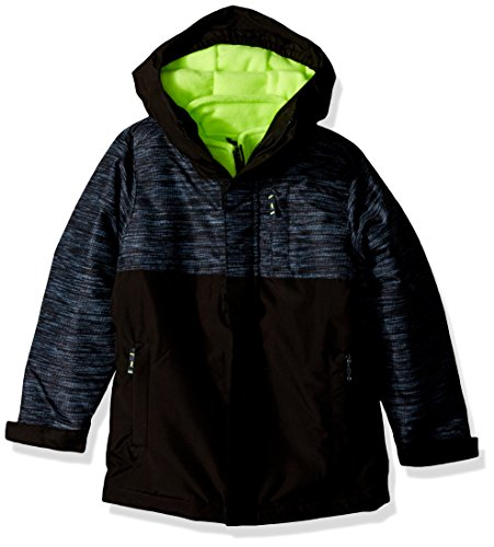 The Children's Place Big Girls' 3-in-1 Jacket, Fin Gray, XL