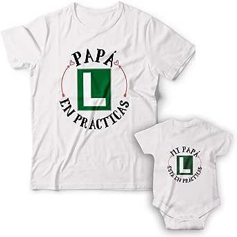 WABBINK Camiseta y Body Bebé Manga Corta - Papá en prácticas – Regalos Originales para Padres y recién Nacidos - Papás Primerizos/futuras mamás: Amazon.es: Ropa y accesorios