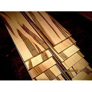 "American Walnut Thin Stock Lumber Boards Wood Crafts 1/"" x 3/"" x 24/"" Beautiful"