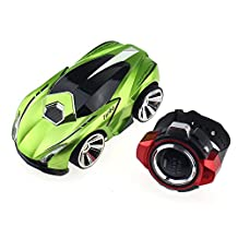 Tipmant High Speed Voice Controlled Racing Car Smart Watch Remote Control RC Vehicles Kids Toy Gift