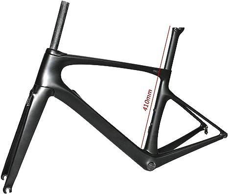 NXXML Cuadro de Bicicleta de Carretera 700C, Cuadro de Bicicleta ...