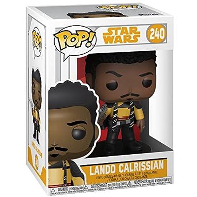 Funko Pop! Star Wars: Solo - Lando Calrissian Vinyl Figure (Bundled with Pop Box Protector Case): Toys & Games