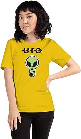 Art Gallery Misr Printed UFO T-Shirt Short Sleeve