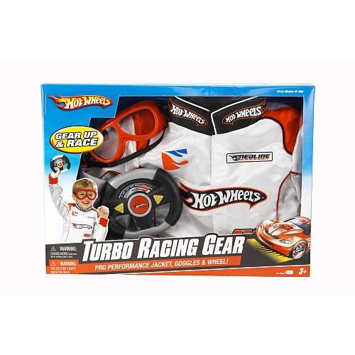 Hot Wheels Turbo Racing Gear Costume - Jacket, Goggles, & Wheel!