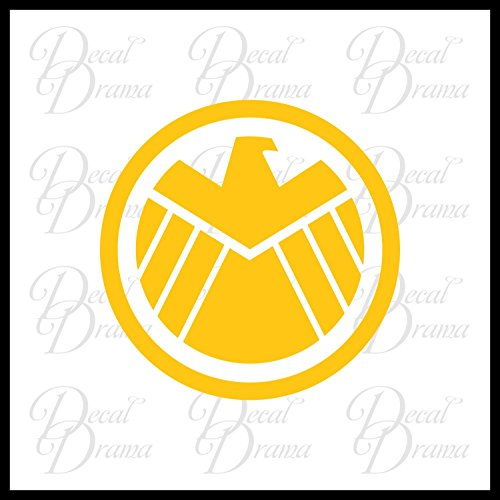 SHIELD Eagle emblem Vinyl Car/Laptop Decal, Marvel Comics-Inspired Fan Art (Black Widow Car Emblem compare prices)