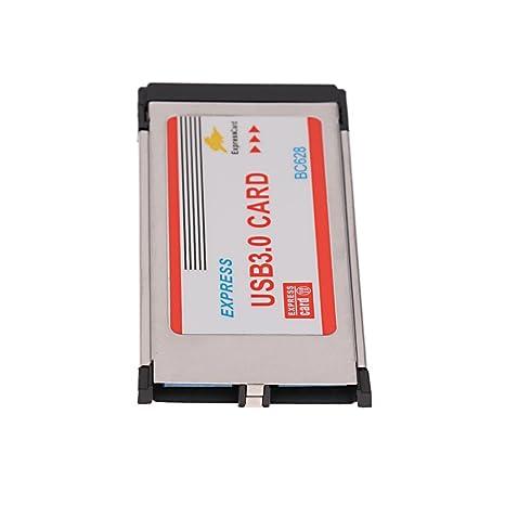 2puertos Tarjeta USB3.0 Express Compatible con ...