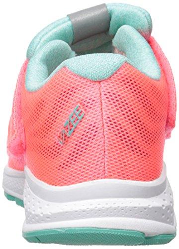 New Balance KVRUSV2 Pre Running Shoe (Little Kid) Pink/Teal