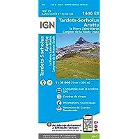 Tardets Sorholus Arette 1 : 25 000 (Top 25 & série bleue - Carte de randonnée)