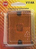 "PETERSON MFG V114A Orange 2.75""x2.05"" Strobe"