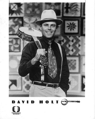 David Holt Banjo (David Holt Banjo original 8x10 Photo J1451)