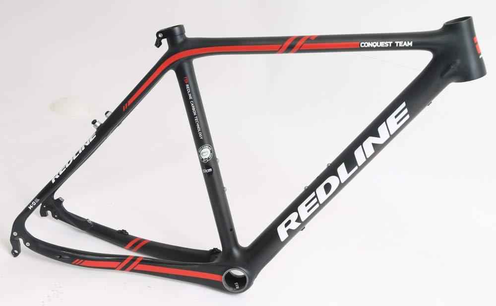 Redline Conquest Team Disc/Canti 51cm Carbon Cyclocross CX Bike Frame 700c New