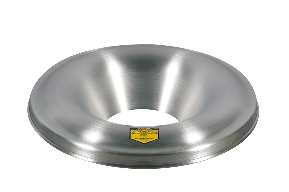 Justrite 26512 Cease-Fire Aluminum Head, 15-1/8'' OD, For 12 and 15 Gallon Drum