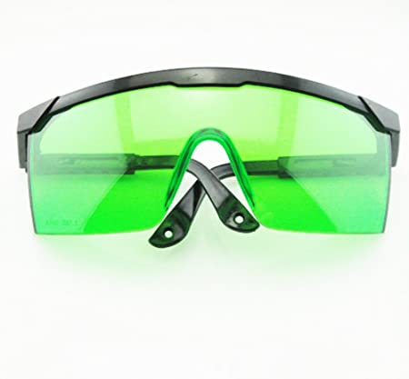1c3dde46aa Protective Blue Laser Safety Glasses Goggles (Green) by FCPR  Amazon ...