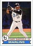 2016 Topps Archives Baseball #158 Gary Sheffield Florida Marlins