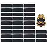 #2: 30 Pack Black Police Mourning Band Stripe Police Officer Badge Shield Funeral Honor Guard Straps, 1/2