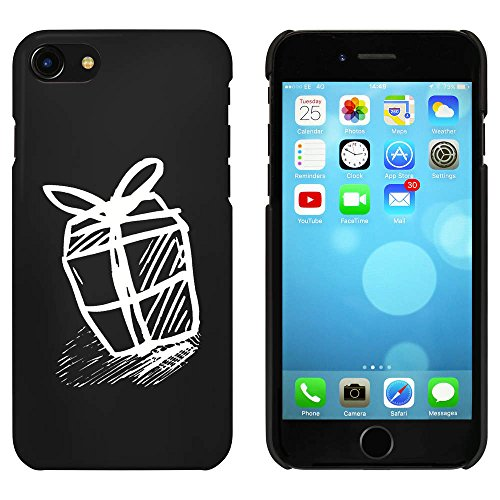 Noir 'Cadeau d'Anniversaire' étui / housse pour iPhone 7 (MC00077389)