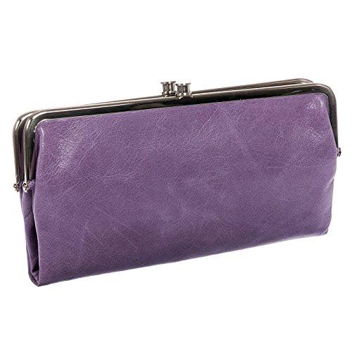 Hobo Womens Leather Lauren Clutch Wallet (Violetta)