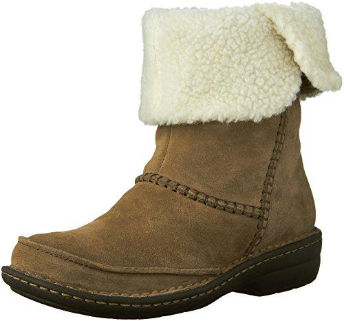 Avington Women's Grace M Khaki 6 Goat Suede Boot Ankle Clarks US Combination 5dqEPCw5