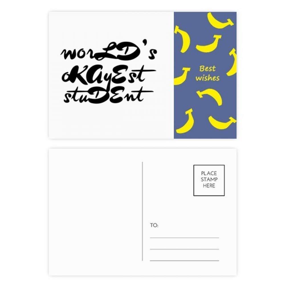 Worlds Okayest - Tarjetas de agradecimiento para profesor ...