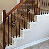 Stair Iron Balusters (100-Pack) Stair Parts Flat