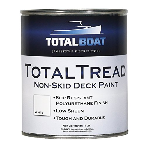 TotalBoat TotalTread Non Skid Deck Paint (White, Quart)