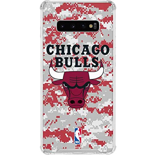 - Skinit Chicago Bulls Galaxy S10 Plus Clear Case - Officially Licensed NBA Phone Case - Transparent Galaxy S10+ Cover